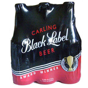 Carling Black Label 6x340ml