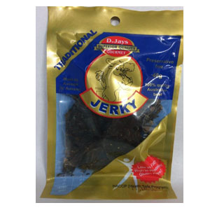 D Jays Jerky Traditional 40g