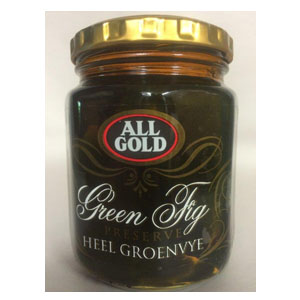 All Gold Green Fig Preserve 320g