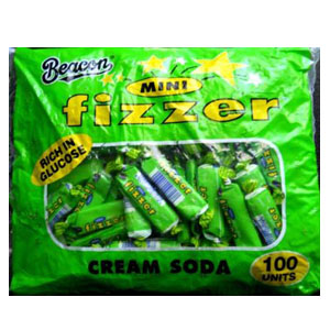 Beacon Mini Fizzer Cream Soda 100 units