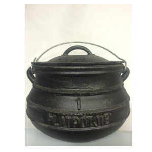 Best Duty Plat (Flat) Potjie No. 1