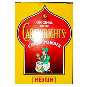 Cartrights Curry Medium 100g