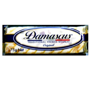 Damascus Nougat Bar 75g