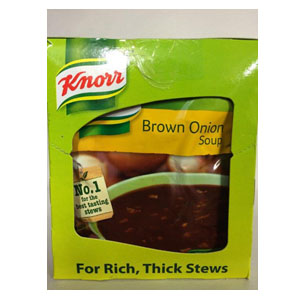 Knorr Brown Onion Soup 1x10x50g