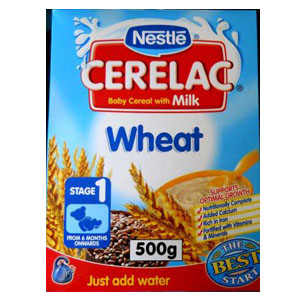 Nestle Cerelac Wheat 500g