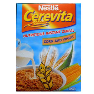 Nestle Cerevita Corn & Wheat 500g