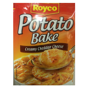 Royco Creamy Cheddar Cheese Potato Bake 40g