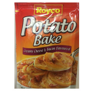 Royco Creamy Cheese & Bacon Potato Bake 40g