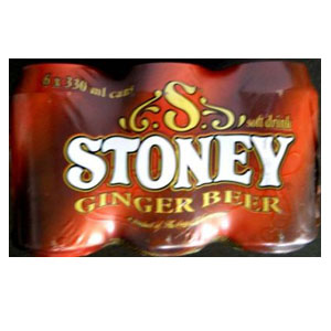 Stony Ginger Beer 6x330ml