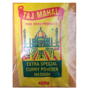 Taj Mahal Medium Curry Powder 400g