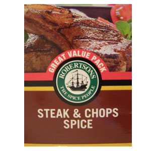 Robertsons Steak & Chops Spice 80g