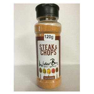 Walker Bay Steak & Chop Seasoning 120g
