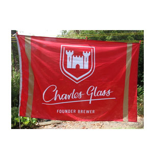 Charles Glass (Castle) Flag 1.7x1.1M