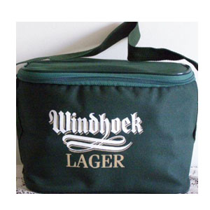Windhoek Lager Green 6 Pack cooler Bag